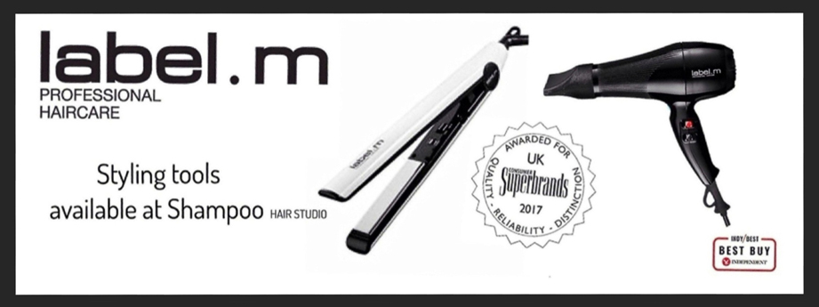 label.m Hair Styling Tools